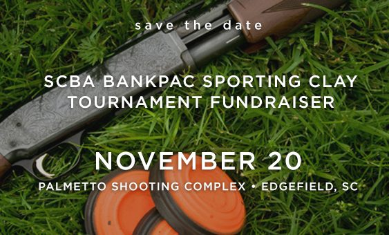 Save the Date for the SCBA BankPAC Sporting Clays Tournament Fundraiser!