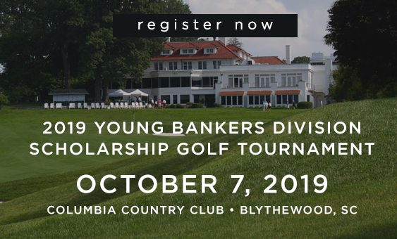 Now Register for the SCBA Young Bankers Division Scholarship Golf Tournament